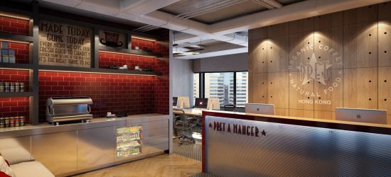Pret-A-Manger Head Office – Hong Kong
