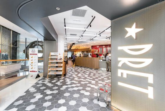 Pret-A-Manger Stores – Hong Kong & China
